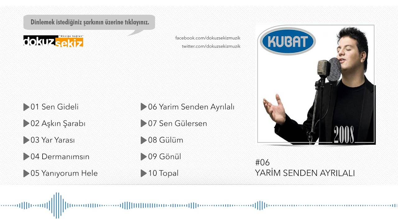 Kubat - Yarim Senden Ayrılalı (Official Audio)