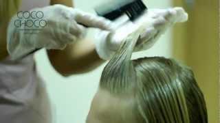 Cocochoco кератиновое  выпрямление волос. Обучающий ролик(, 2012-11-10T16:55:52.000Z)