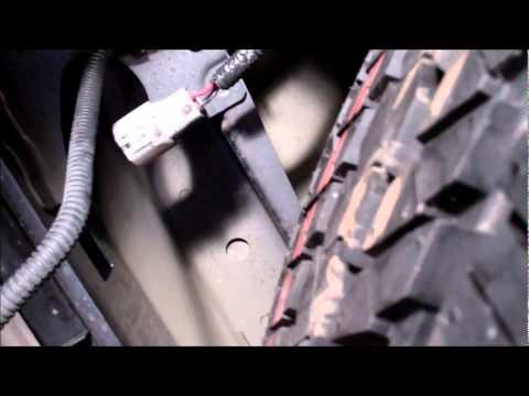 Toyota Tundra Backup Camera and Monitor Install - YouTube