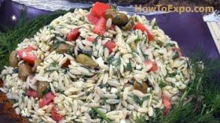 Best Feta Pasta Salad (a Feta Cheese Orzo Pasta Salad Recipe)