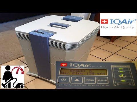 IQ AIR  GC MultiGas Air Purifier Review  & Smoke Test