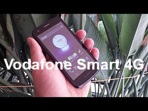 Vodafone Smart 4G Hands on Review [Greek]
