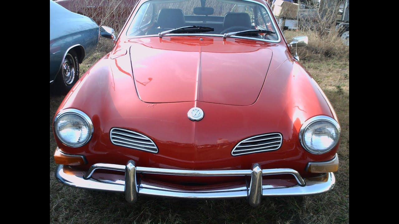 Early 70s Vw Karmann Ghia Red Sumtrfg 020512 Youtube 1960 Volkswagen