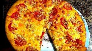 Супер тесто для пиццы. Вкусная пицца в пиццамейкере GFGRIL.