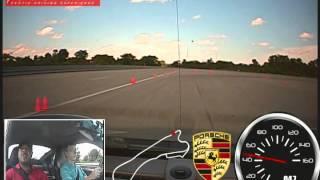 Me driving a Porsche 911Turbo