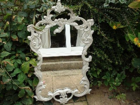 How To Paint Shabby Chic Furniture!   YouTube