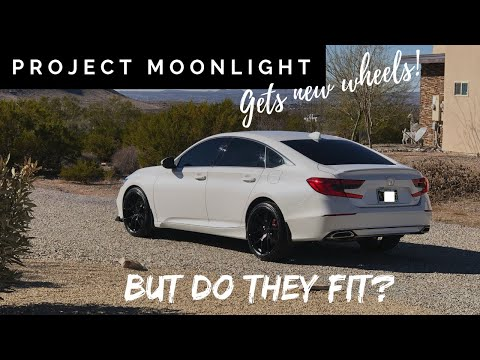 🔥Project Moonlight gets new wheels - Aodhan LS007's🔥