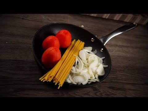 Как приготовить спагетти с помидорами