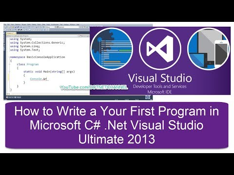 Microsoft C# .Net Introduction Tutorial for Beginners   Dot Net Channel   Part 8