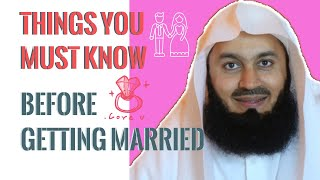 Things You MUST Know Before Getting Married in Islam I Mufti Menk (2019)