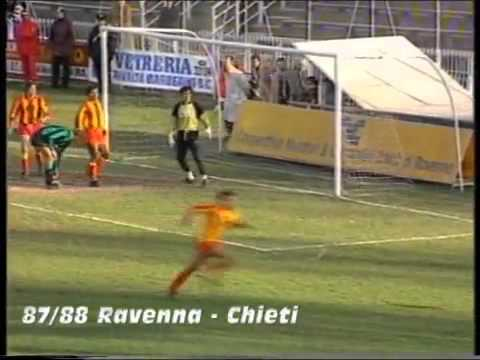 Serie C2 girone C 1987/88 19 Ravenna - Chieti 2-1.mp4