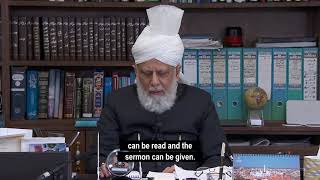 Hazrat Mirza Masroor Ahmad makes special broadcast on Coronavirus
