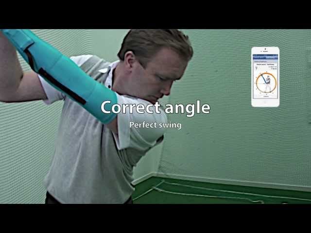 Getting your golf swing right with PolyPower stretch sensors!