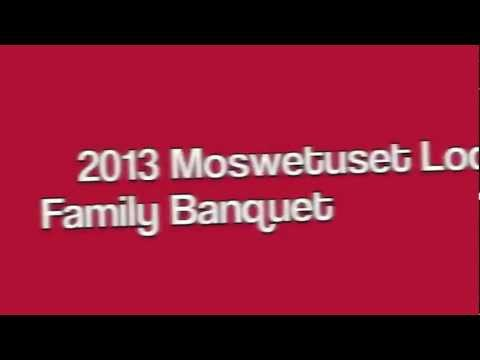 Lodge Annual Family Banquet 2013 Promo - REGISTER NOW!
