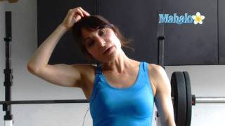 How to Do a Lateral Neck Flexion Stretch