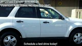 2012 Ford Escape XLT FWD - for sale in Hickory, NC 28601