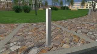 Installing Stainless Steel Post Covers With A Flanged Surface Mounting