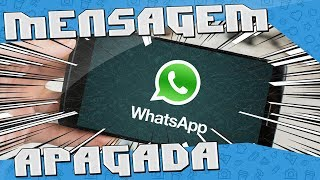 Como Ler Mensagens Apagadas do WhatsApp / Instagram / Messenger