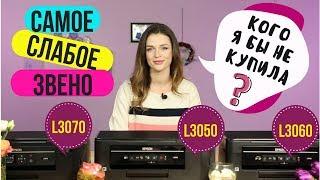Який принтер НЕ треба купувати: Epson L3050, L3060 або L3070?