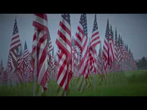 Pepperdine University Waves of Flags 9/11 Memorial Display