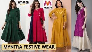 Myntra Festive Wear Haul | Ama…