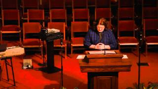 Rev Ashley Cook Delivers Thanksgiving Message