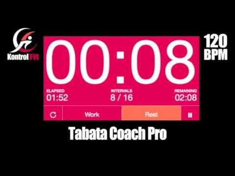 Tabata Workout Motivation Soul Anthem 120 bpm Tabata Timer Music &  Coach