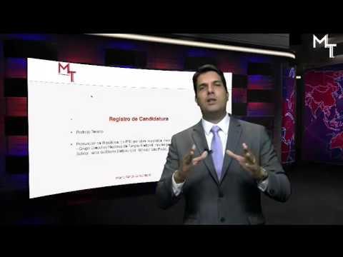 Registro de Candidatura - Procurador da República Rodrigo Tenório - MITO CONCURSOS -
