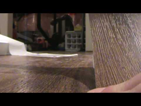allure traffic master vinylplank floor howto put pieces together youtube