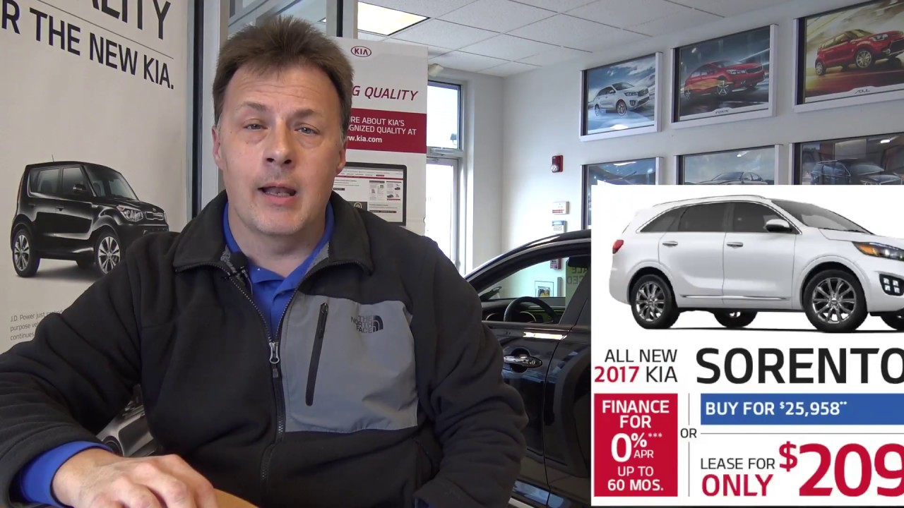 2017 Sorento And Optima March Specials At Smail Kia In