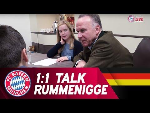 Karl-Heinz Rummenigge beantwortet Kinderfragen | 1:1 Talk - FC Bayern