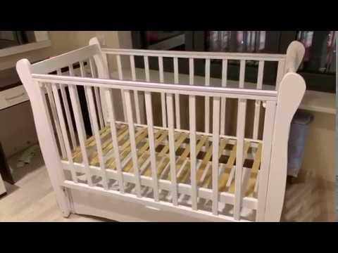 Детская кроватка Сибирочка С-777 белая!