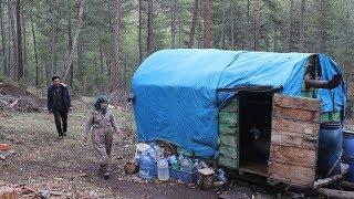 34 Yıldır Ormanda Yaşıyorlar