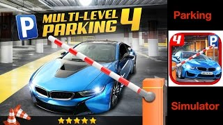 multi level 4 car parking simulator app check iphone ipad ios game aidem media