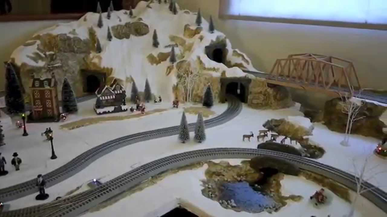 How to Make a Pretty Christmas Village Using Dollar Store Items
