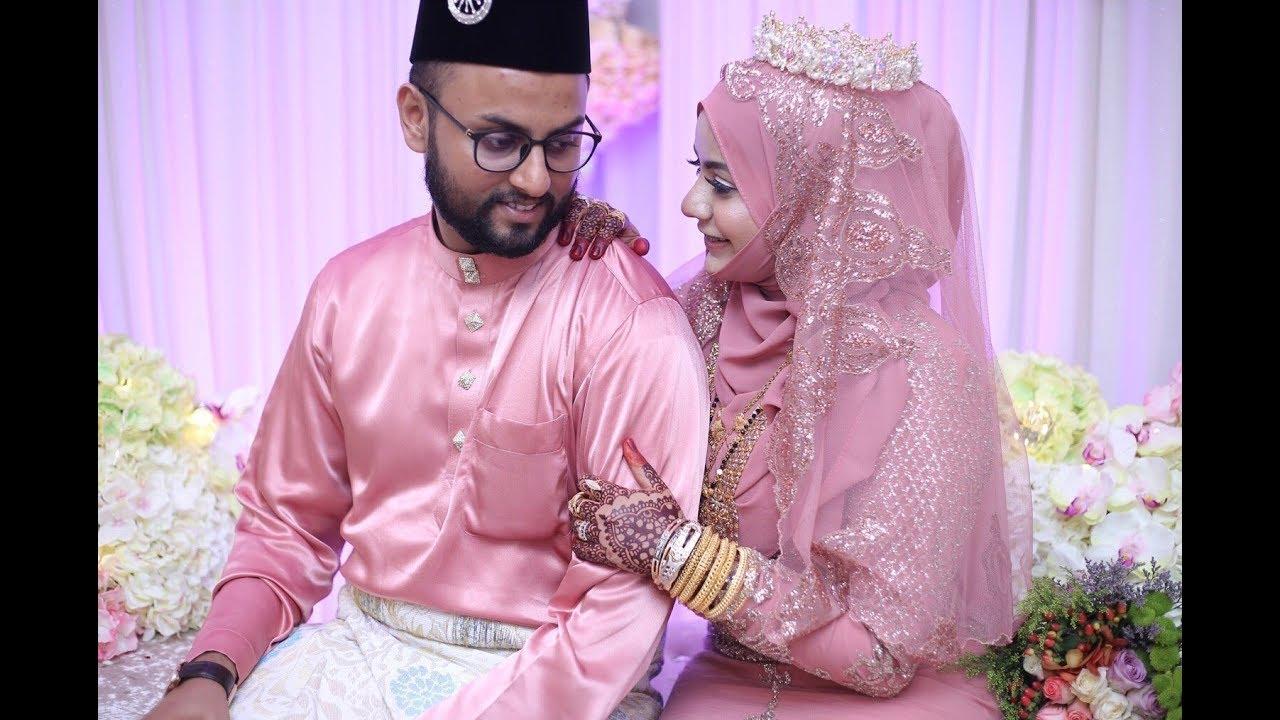INDIAN MUSLIM WEDDING   Najeeha & Qaizer   Mehendi Night ...