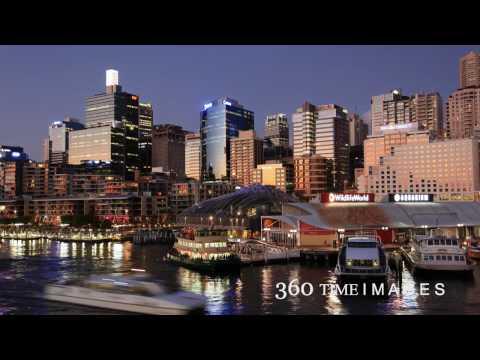 Time Lapse ABZLEM Darling Harbour Skyline