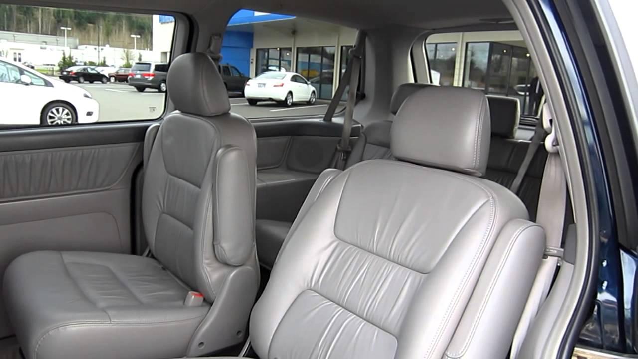 2004 Honda Odyssey EX L, Blue   Stock# 5848A   Interior   YouTube