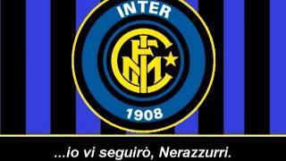 Inno Inter / Pazza Inter Amala (Testo) - Himno del Inter de Milan (Letra)