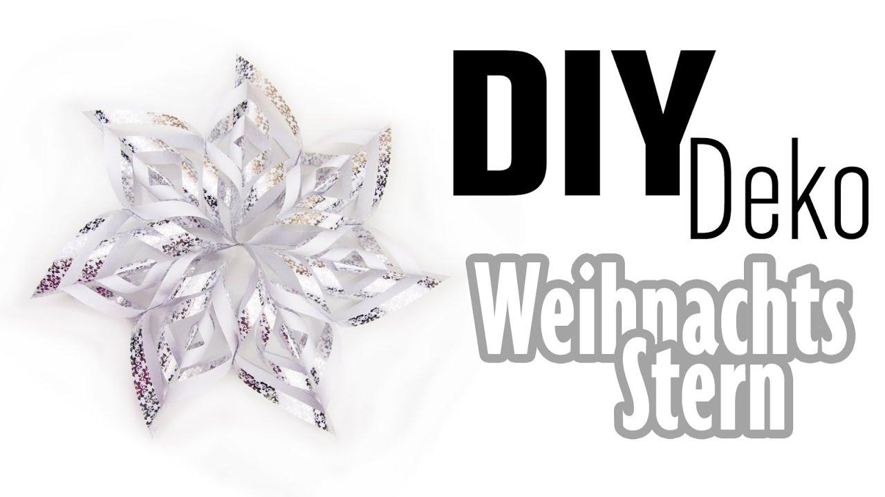 diy weihnachtsstern weihnachts deko youtube. Black Bedroom Furniture Sets. Home Design Ideas