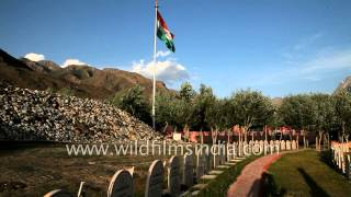 Memorial to martyrs of 1999 Kargil war