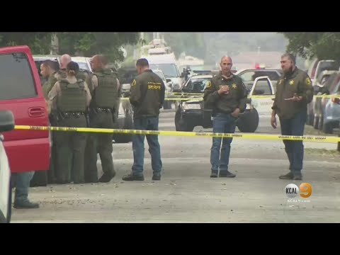 Man Shot, Killed By LA Deputies During Barricade At Compton Home