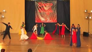 """""""Gracias a la Vida"""". Ballet Juvenil del Colegio San Agustin (Melipilla)"""