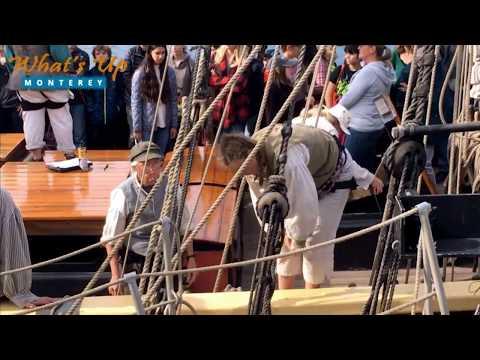 Tall Ship Lady Washington Visit to Monterey, California   WhatsUpMonterey.com