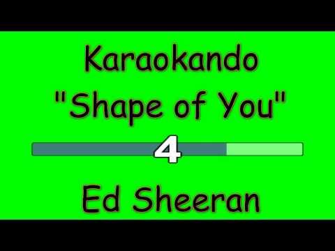 Karaoke Internazionale - Shape of you - Ed Sheeran
