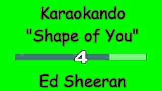 Karaoke Internazionale - Shape of you - Ed Sheeran ( Lyrics )