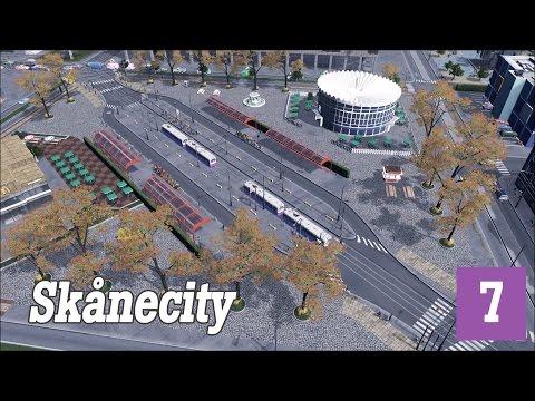 Cities:Skylines | Skånecity #7 - Improving the transit |