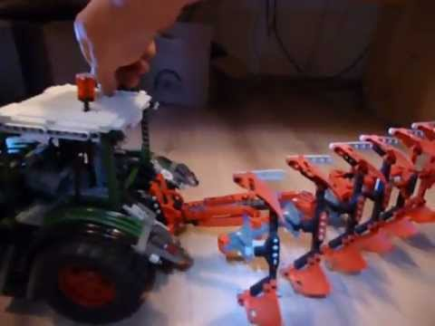 Fendt Vario 939 Lego Technik Technic Mit 6 Scharpflug 75