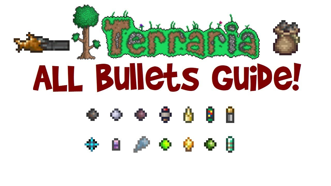 how to make bullets terraria