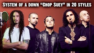 Repeat youtube video System Of A Down - Chop Suey | Ten Second Songs 20 Style Cover